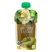 Happy Baby Organics Clearly Crafted Stage 2 Apples, Kale, Avocados
