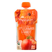 Happy Baby Organics Clearly Crafted Stage 2 Apples, Pumpkin, Carrots