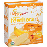 Happy Baby Organics Gentle Teethers Wafers Sweet Potato & Banana