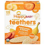 Happy Baby Organics Gentle Teethers Wafers Sweet Potato & Banana