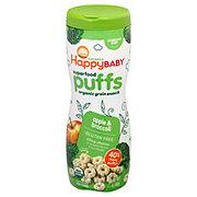 Happy Baby Organics Superfood Apple Puffs