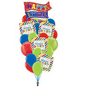 Happy Birthday Colossal Balloon Bouquet
