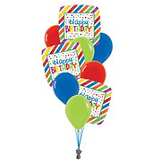 Happy Birthday Medium Balloon Bouquet
