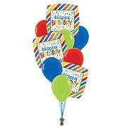 Happy Birthday Medium Balloon Bouquet