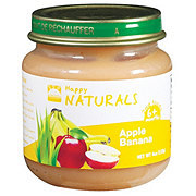 Happy Naturals 2nd Foods Apple Banana