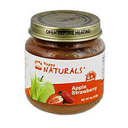 Happy Naturals 2nd Foods Apple Strawberry