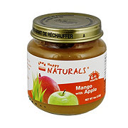 Happy Naturals 2nd Foods Mango With Apple