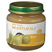 Happy Naturals 2nd Foods Pear