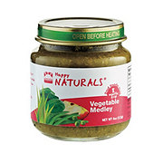 Happy Naturals 2nd Foods Vegetable Medley
