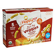Happy Tot Love My Veggies Straws Sweet Potato Rosemary 5 pack
