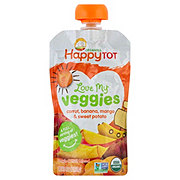 Happy Tot Love Veggies Carrot Banana Mango Sweet Potato