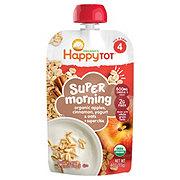 Happy Tot Super Morning Meals Apples, Cinnamon, Yogurt & Oats