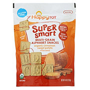 Happy Tot Super Smart Alphabet Snack Cinnamon Sweet Potato
