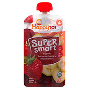 Happy Tot Super Smart Banana Beets Strawberries