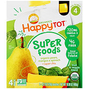 Happy Tot Superfoods Pears, Mangos & Spinach