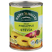 Happy Valley Farms Sliced Pineapple in Water and Stevia