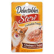 Hartz Delectables Lickable Treats, Stew Chicken & Tuna