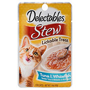 Hartz Delectables Stew Tuna & Whitefish
