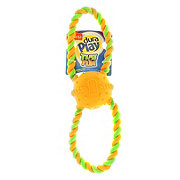 Hartz Dura Play Tug Of Fun Double Ring Dog Toy