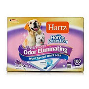 Hartz Odor Eliminating Dog Pads with Lavender