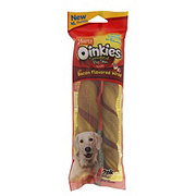 Hartz Oinkies Smoked Pig Skin Bacon Flavored Wraps