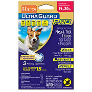 Hartz Pro Flea & Tick Treatment for Dogs and Puppies Weighing 15-30 LBS