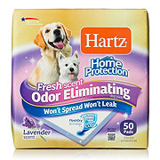Hartz Protection Odor Eliminating Dog Pad with Lavender