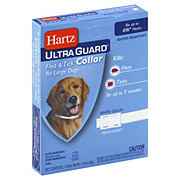 Hartz Ultra Guard Flea and Tick Collar For Large Dogs White Fresh Scent