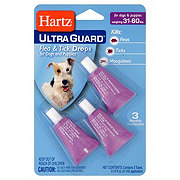 Hartz Ultra Guard Flea and Tick Drops For Dogs and Puppies 31-60 LBS