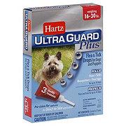 Hartz Ultra Guard Plus Flea & Tick Drops For Dogs and Puppies 16-30 LBS