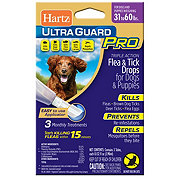 Hartz Ultra Guard Pro Drops for Dogs & Puppies 31-60 lb