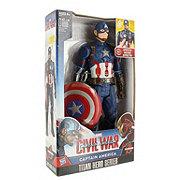 Hasbro Marvel Captain America Civil War Titan Hero Series Captain America Electronic Figure