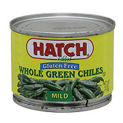 Hatch Fire Roasted Mild Whole Green Chiles