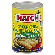 Hatch Medium Green Chile With Roasted Garlic Enchilada Sauce