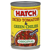 Hatch Medium Original Diced Tomatoes & Green Chilies