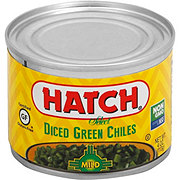 Hatch Select Diced Mild Green Chiles