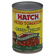 Hatch Southern Style Diced Tomatoes and Green Chilies Mild