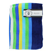Haven & Key Beach Towel Geo/stripe