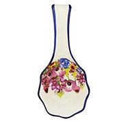 Haven & Key Bluebonnet Ceramic Spoon Rest