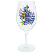 Haven & Key Bluebonnet Wine Glass