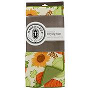Haven & Key Drying Mat Pumpkins & Sunflowers