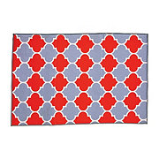 Haven & Key Drying Mat Red Gray