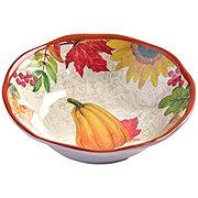 Haven & Key Melamine Pumpkin Small Bowl