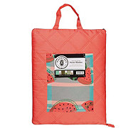 Haven & Key Picnic Blanket With Pouch 60x70 in