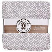 Haven & Key Printed Velvet Blanket Full And Queen