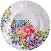 Haven & Key Spring Floral Melamine Dessert Plate