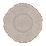 Haven & Key Spring Melamine Dinner Plate Grey
