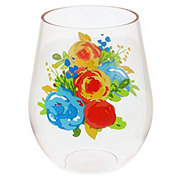 Haven & Key Spring Stemless Plastic Wine Assorted Colors