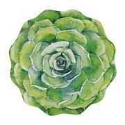 Haven & Key Spring Succulent Dinner Plate