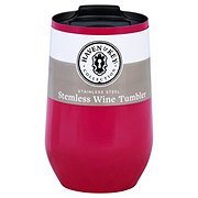 Haven & Key Stainless Steel Stemless Wine Berry 16oz